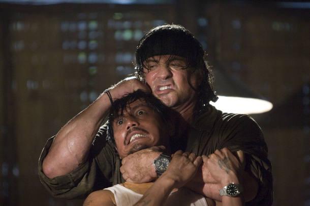 15.º - 'Rambo 4', Sylvester Stallone, 2008