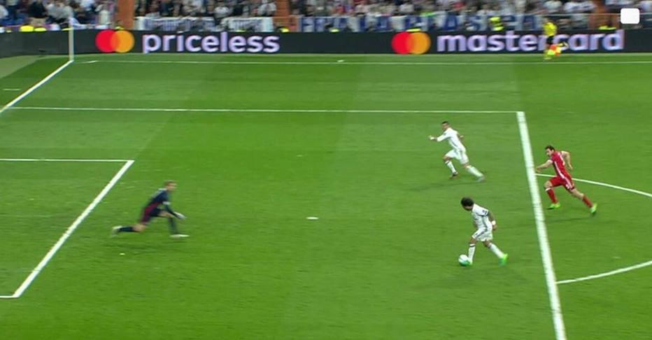 Cristiano Ronaldo impedido