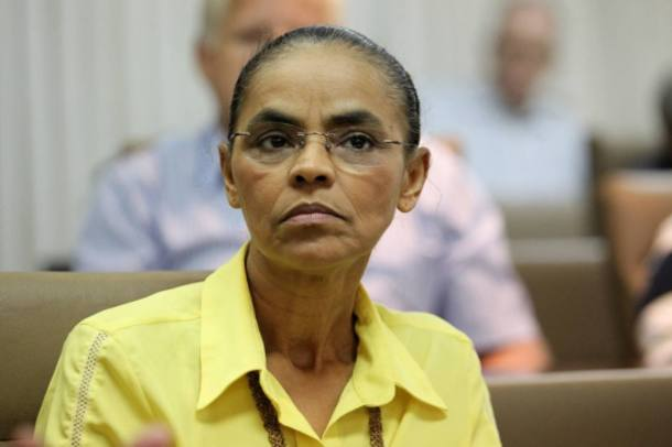 A líder da Rede, Marina Silva