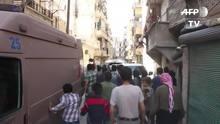 Bombardeios deixam dezenas de mortos em Aleppo