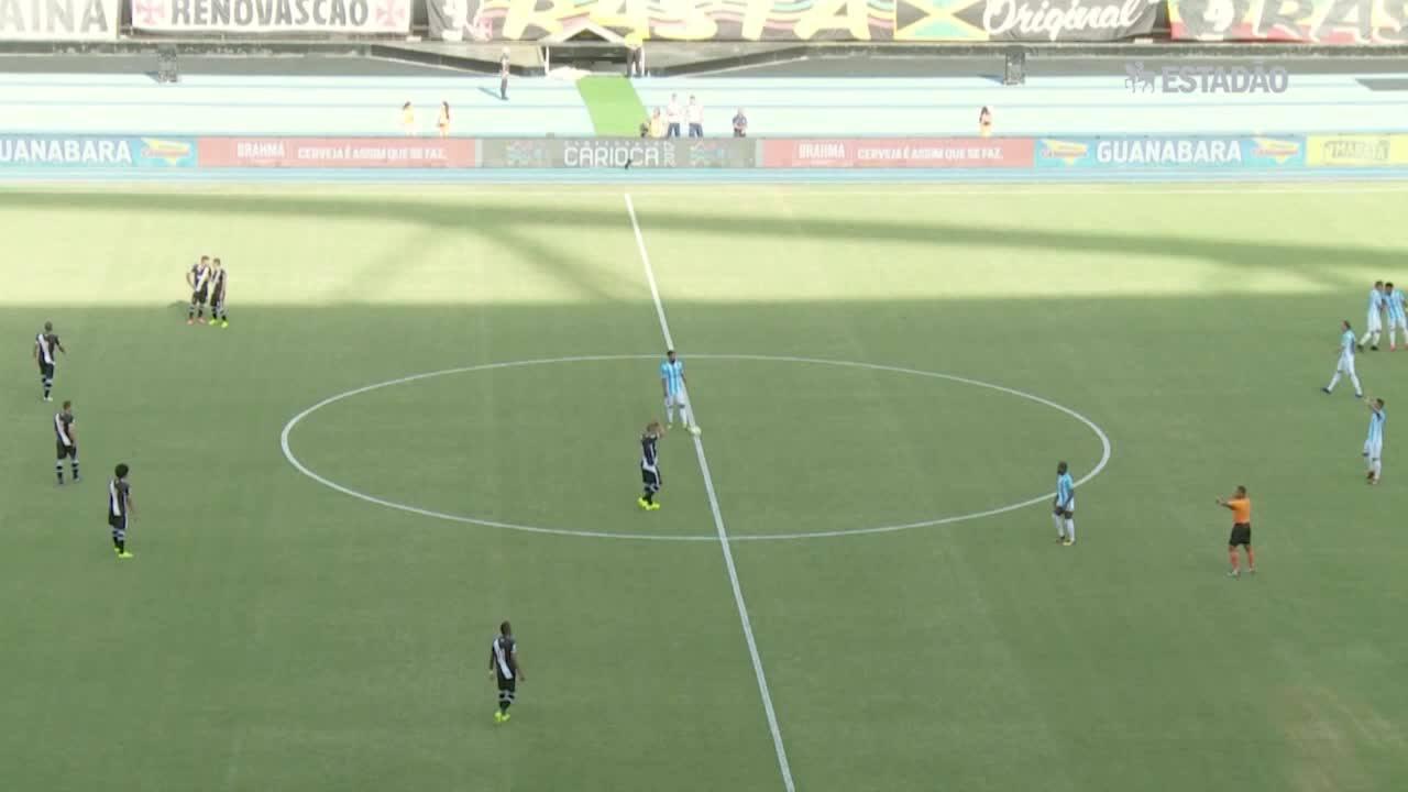 Macaé e Vasco empatam por 2 a 2