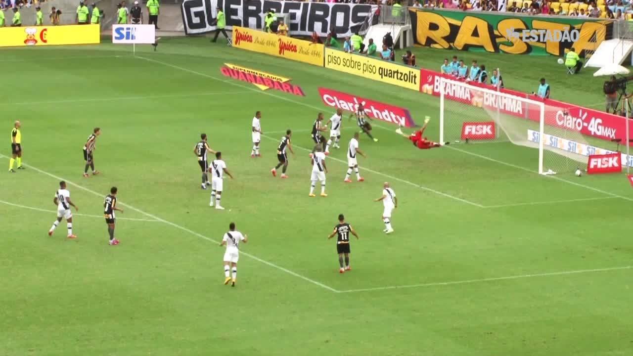 Vasco e Botafogo empatam no Maracanã; veja os gols