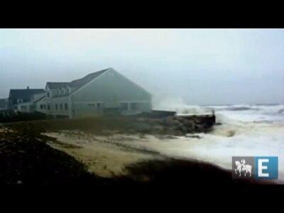 Cinegrafistas amadores gravam chegada do furacão Sandy