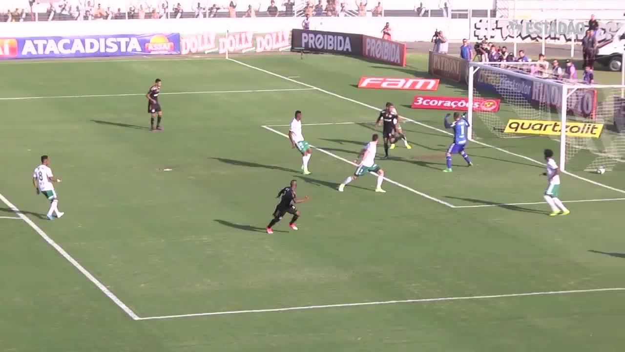 Ponte faz 3 a 0 no Palmeiras e abre vantagem na semifinal do Paulistão