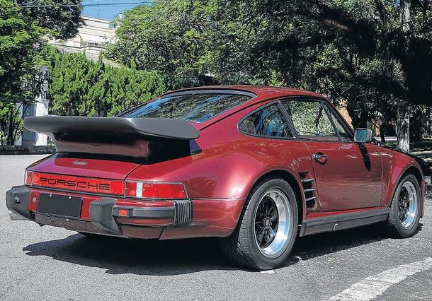 Carro do leitor - Porsche 930 Slantnose