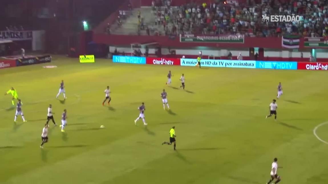 Corinthians empata com o Fluminense por 1 a 1
