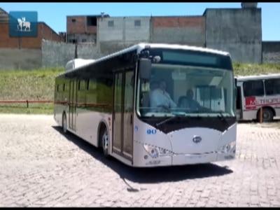 Ônibus a bateria começa a circular em São Paulo