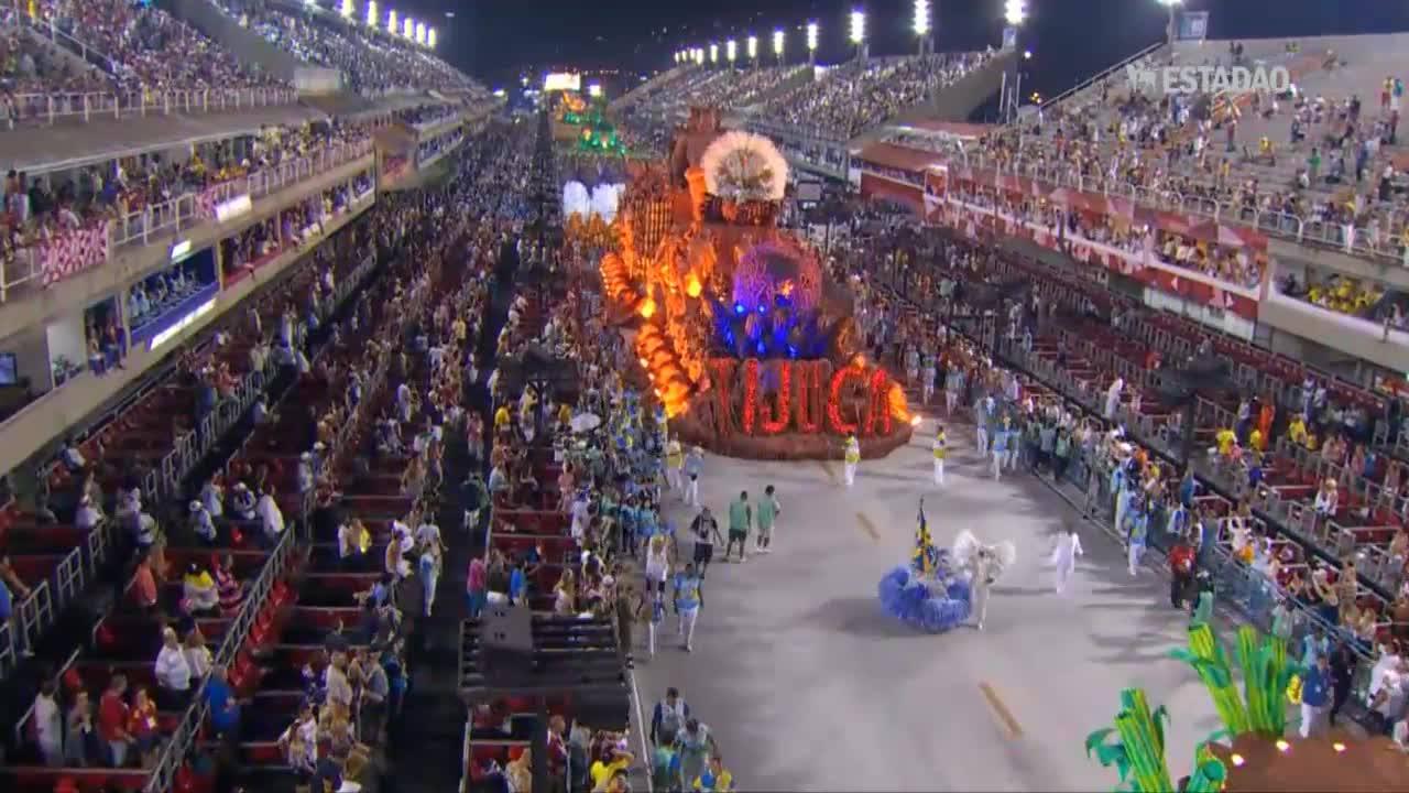 Desfile da Unidos da Tijuca no Carnaval 2016
