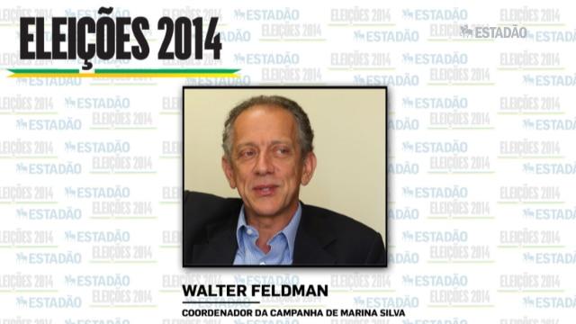 """Walter Feldman: """"Vamos nos posicionar ao longo da semana"""""""