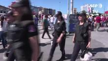 Polícia turca impede Parada LGBT em Istambul