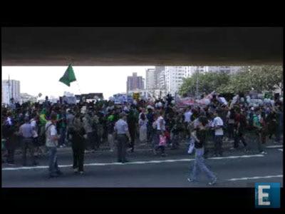 Manifestação marca Dia da Independência em São Paulo