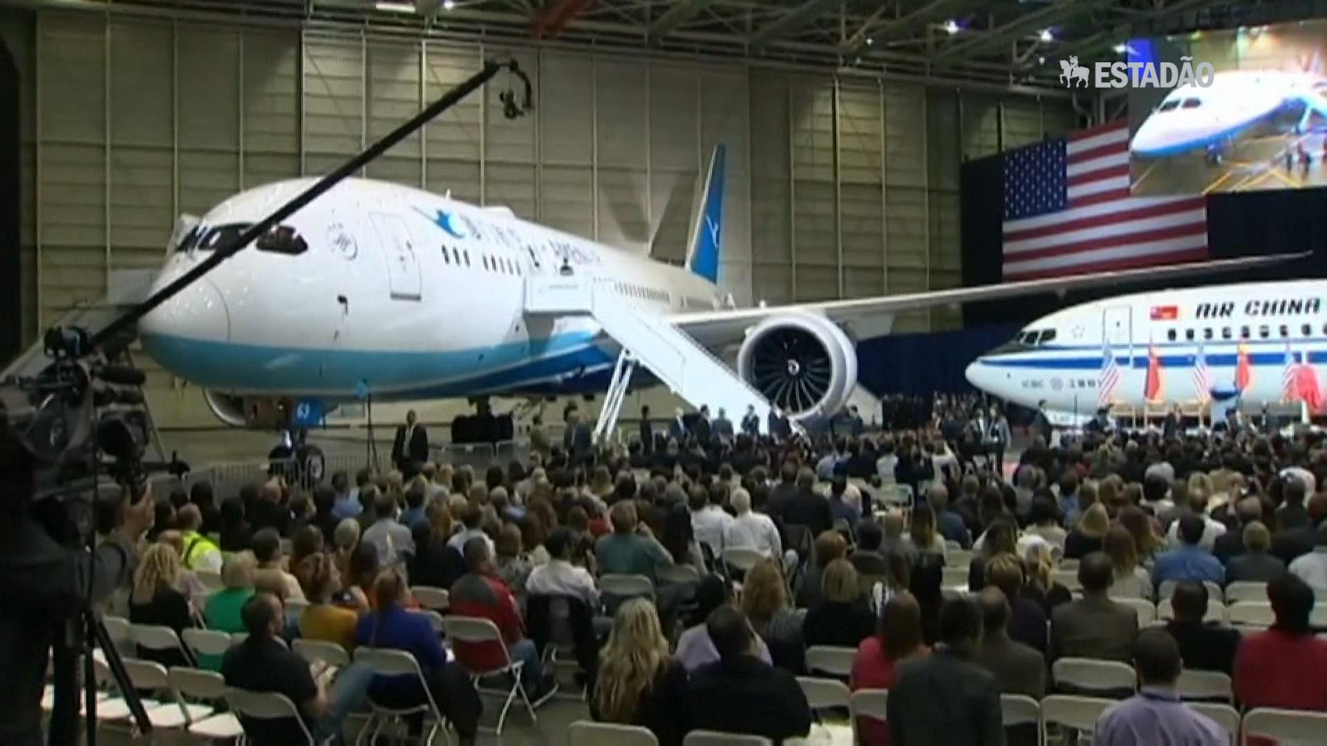 China compra 300 aviões Boeing