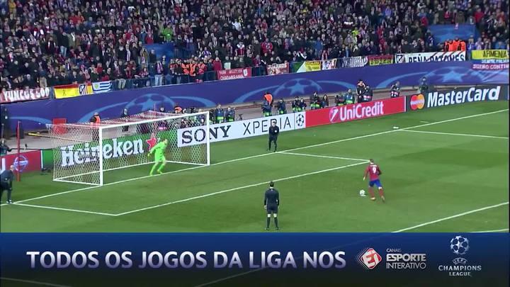 Atlético de Madrid elimina o PSV na disputa de pênaltis