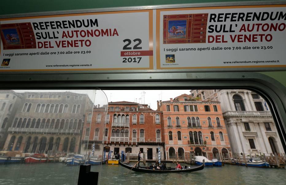 Autonomistas italianos reivindicam vitória no plebiscito em Lombardia e Vêneto