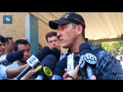Comandante do Gate explica potencial incendiário dos artefatos usados por manifestantes