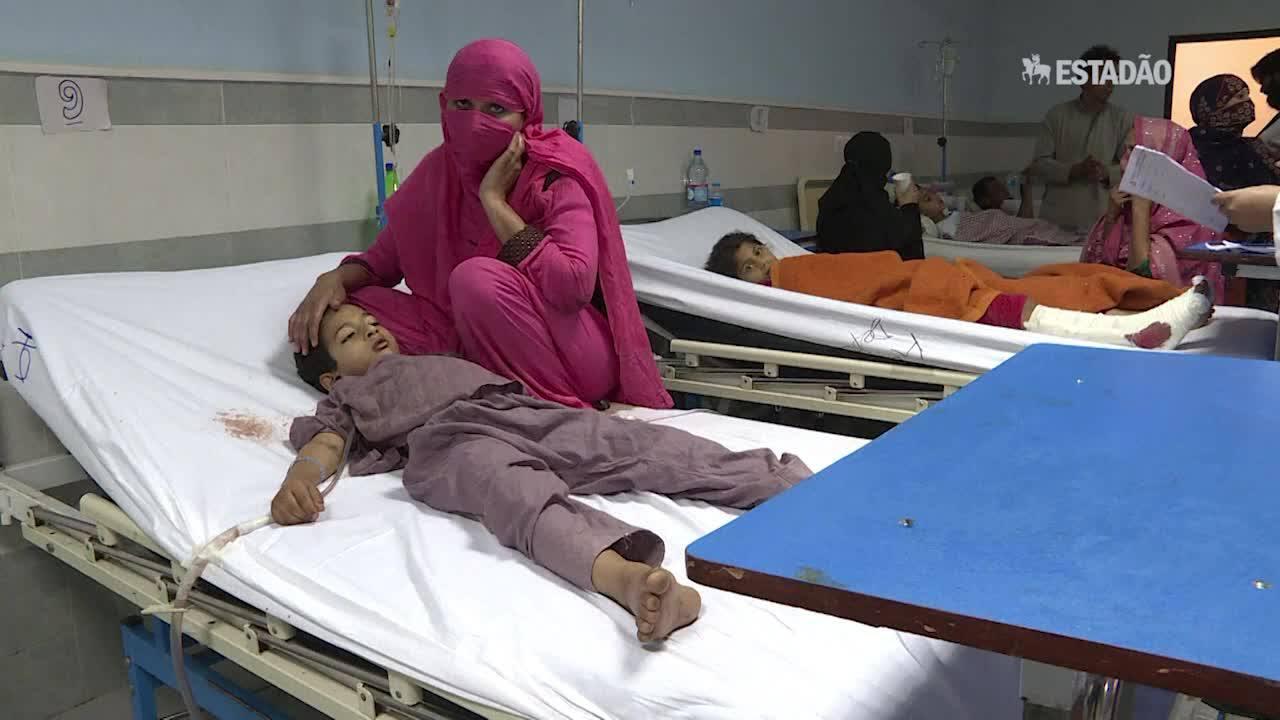 Ataque talibã mata crianças no Paquistão