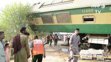 Paquistão: choque de trens deixa 4 mortos e mais de 100 feridos