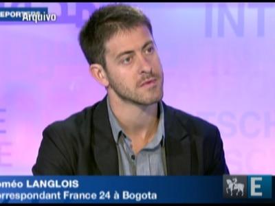 Jornalista francês desparace após ataque das Farc