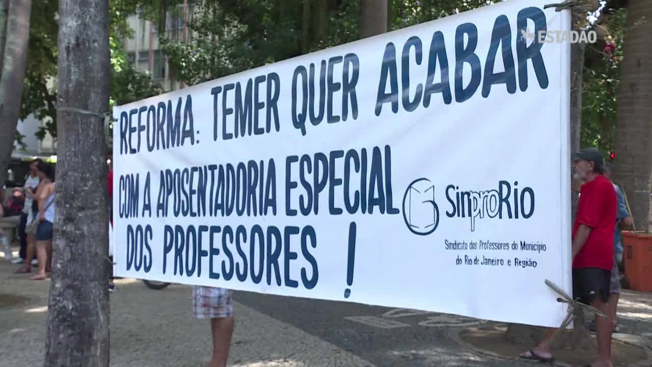 Paralisação atinge transportes e escolas em SP e no Rio