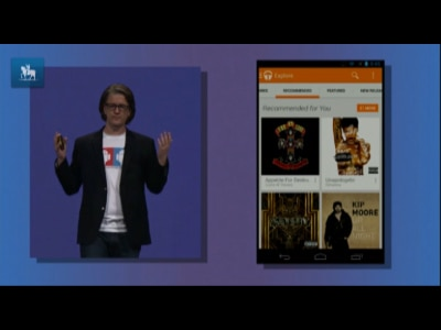 Google lança serviço de streaming de música