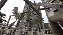 Explosão em prédio destrói apartamentos no Rio
