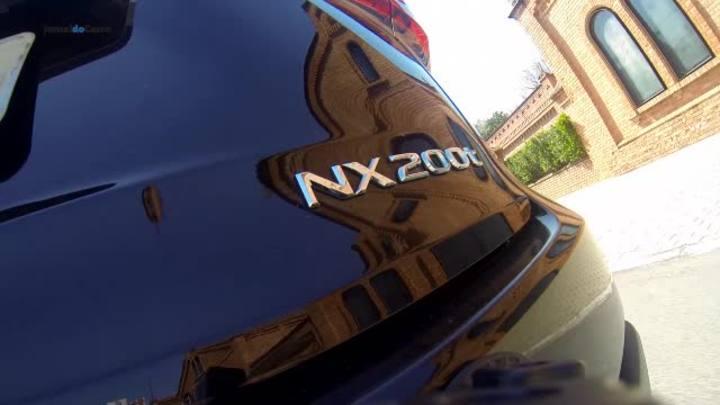 Lexus NX 200t une design arrojado e conforto a bordo