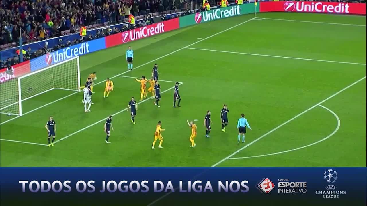 Barcelona aproveita expulsão e vira sobre o Atlético de Madrid