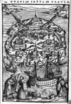 A ilha.Na obra de Morus, sonho era resultado de idealização; hoje é reação às forças conservadoras