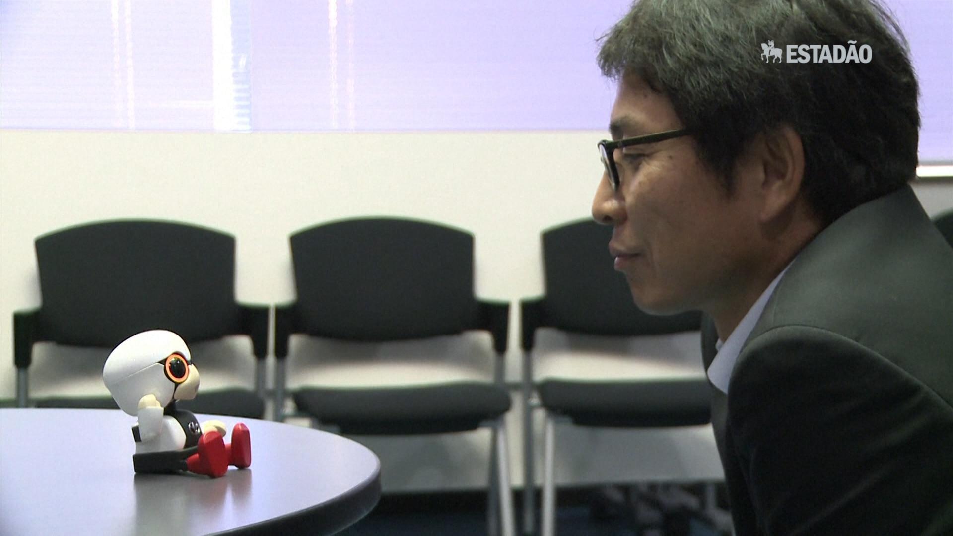 Toyota lança robô para fazer companhia a pessoas solitárias