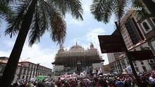 Servidores do Rio exigem retirada de pacotes