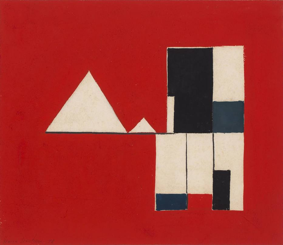 Exposição com obras raras marca centenário de Maria Leontina