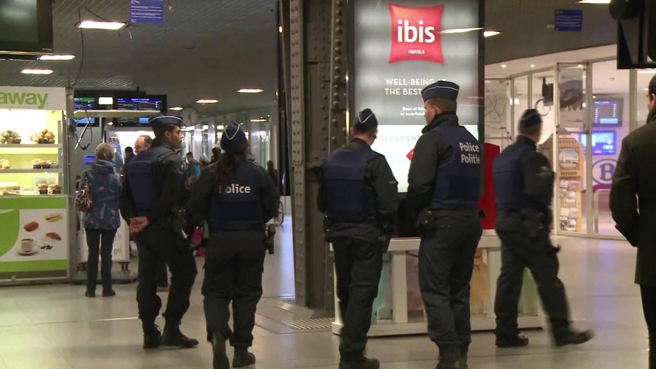 Bruxelas em alerta máximo