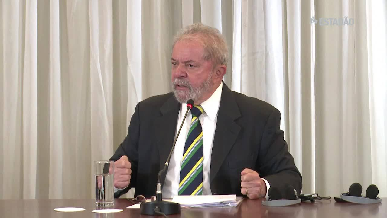 Lula: 'Não preciso de foro privilegiado'