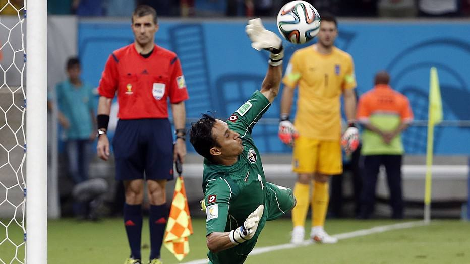 Keylor Navas - 27 anos - clube: Levante - 57 jogos pela seleção colombiana - 2 gols sofridos na Copa do Mundo 2014
