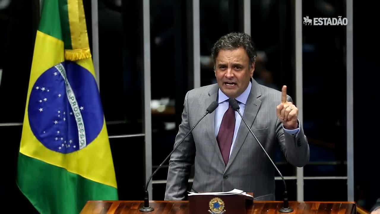 Aécio rebate declarações de Dilma