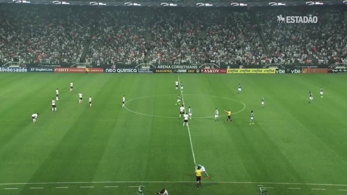 Corinthians vence o Palmeiras por 1 a 0 em Itaquera