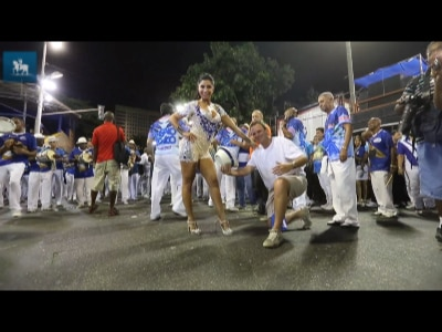 Portela se prepara para o Carnaval