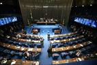 Plenário do Senado, em Brasília