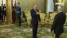 Temer assina acordos com Putin