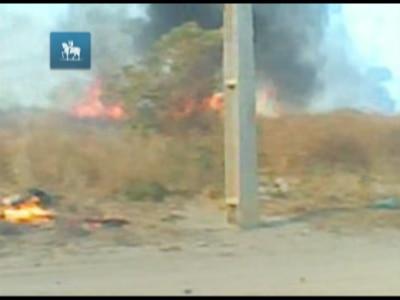 Veja imagens do incêndio que pode ter causado apagão no nordeste