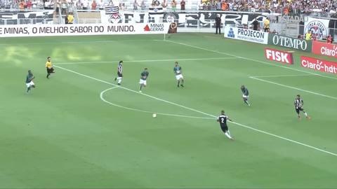 Atlético-MG e Caldense empatam no 1ª jogo da final do Mineiro; veja os melhores momentos