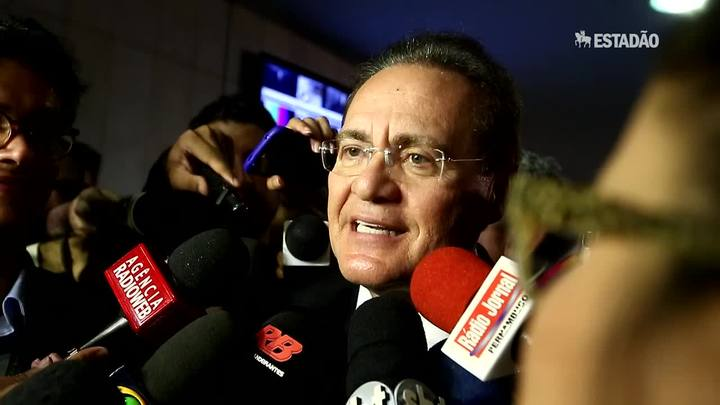 """Meu papel é manter a governabilidade"", diz Renan"