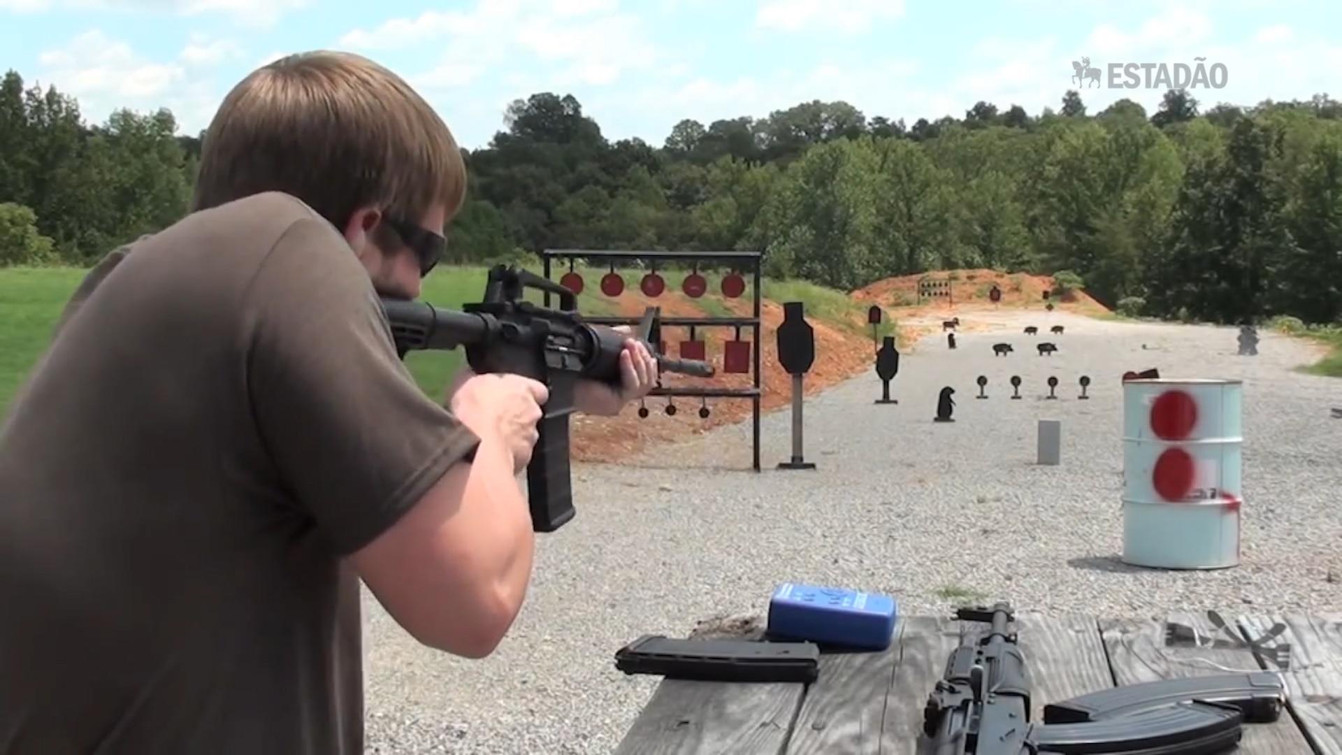 Fuzil do atirador de Orlando é fácil de usar, custa pouco e tem grande poder de fogo