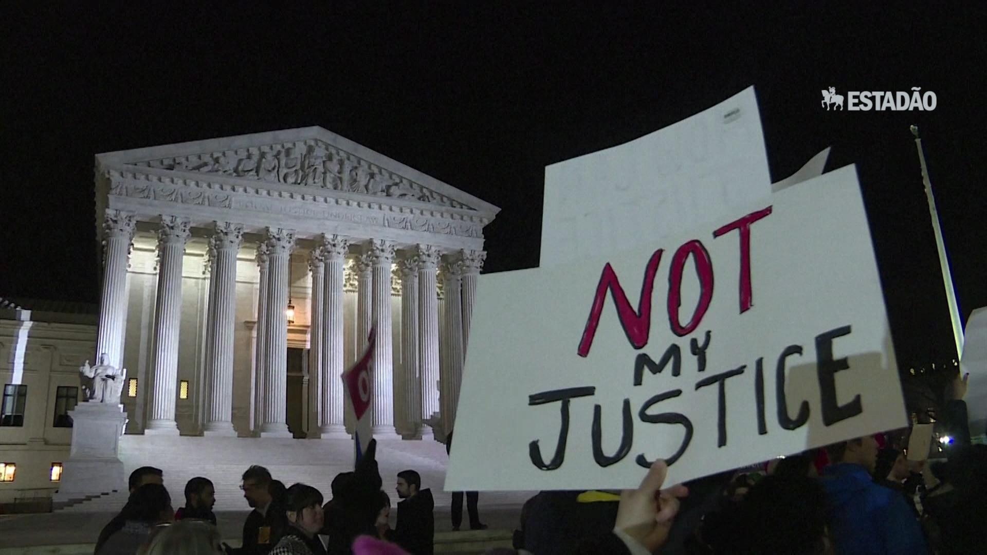 EUA: protesto após indicação de conservador