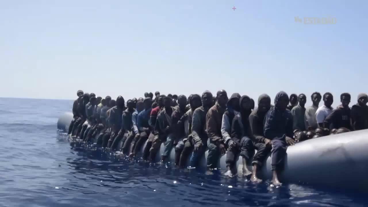 Vídeo da Médicos Sem Fronteiras mostra resgate de refugiados