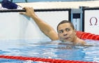 Felipe França disputou medalha nos 100m peito