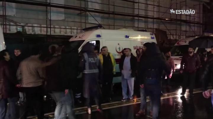 Ataque em boate na Turquia mata ao menos 39