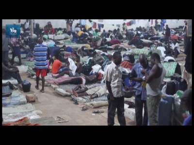 Haitianos lotam acampamento no Acre à espera de documentos