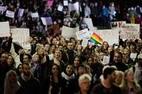 Protestos contra Trump após resultado das eleições americanas