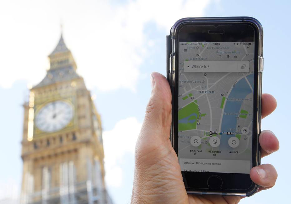 No Reino Unido, Uber vai apelar à Suprema Corte em caso trabalhista